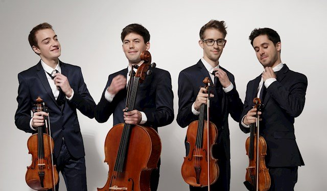 Het Franse Yako Quartet verrast met Ravel, Beethoven en Rosy Wertheim