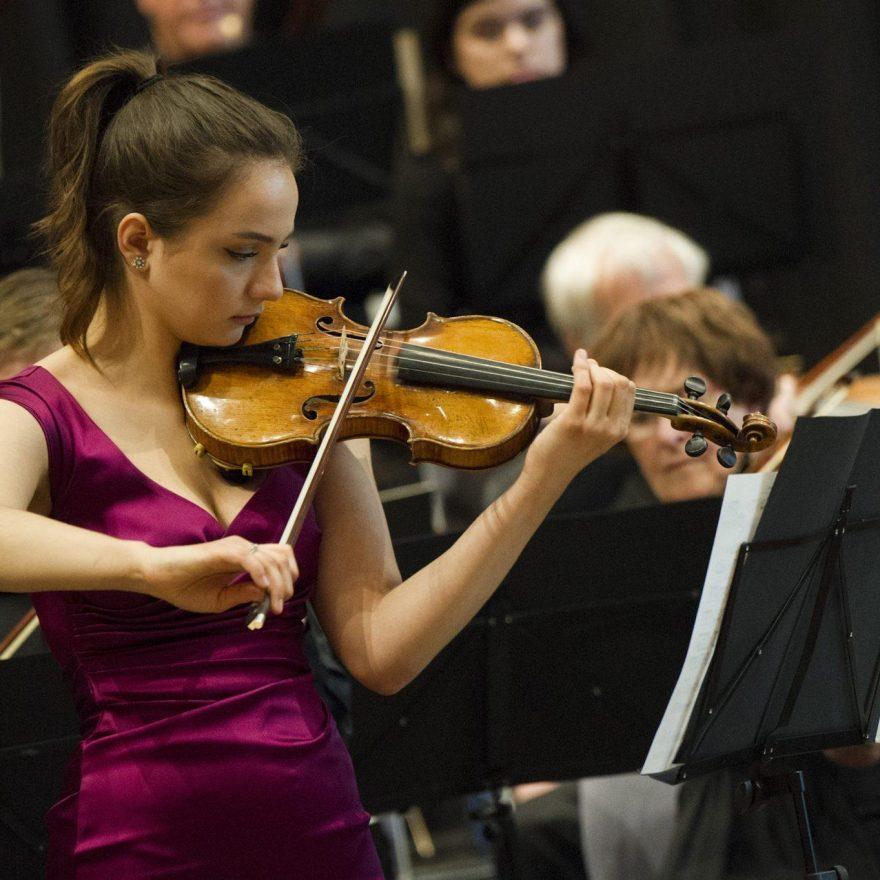 Roekeloos vuurwerk voor viool en piano