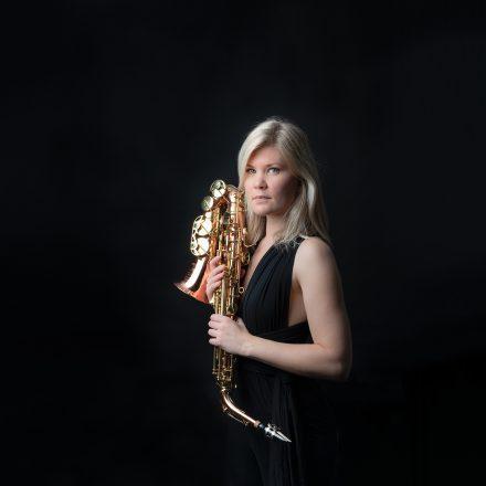 'La fille et le saxophone'